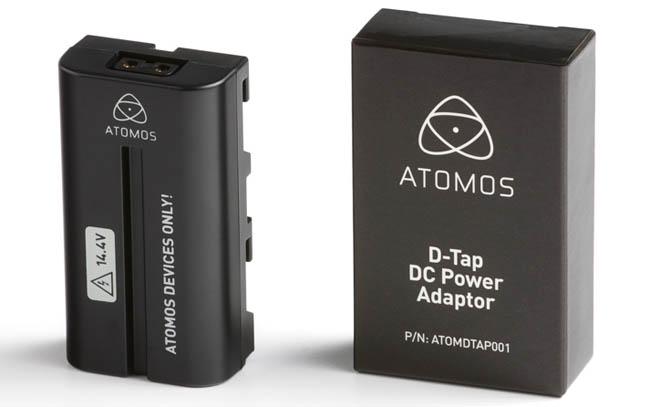 Atomos D-Tap DC Power Adapter - ATOMDTP001