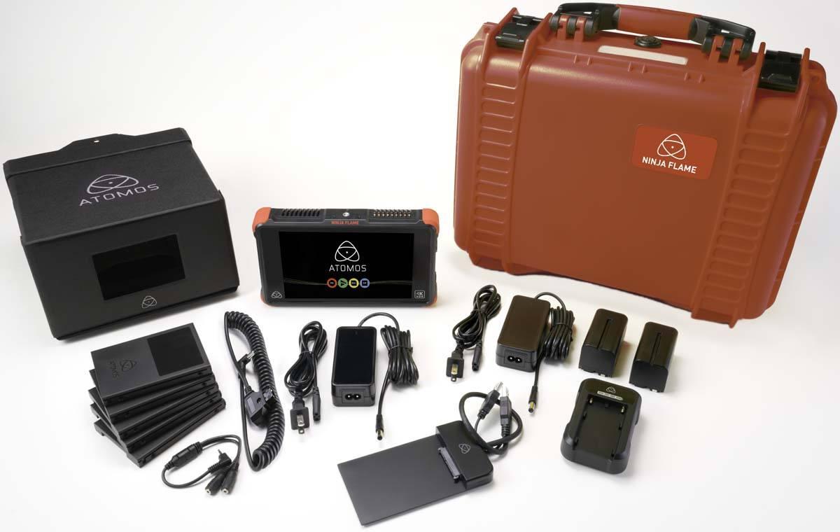 Atomos Ninja Flame Full Kit - ATOMNJAFL1