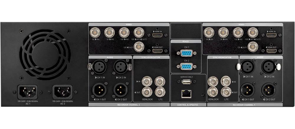 Atomos Shogun Studio 2 - Rear Connectors - ATOMSHSTU2