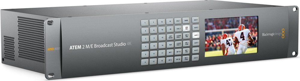 Blackmagic Design ATEM 2 M/E Broadcast Studio 4K - SWATEMRRW2ME4K
