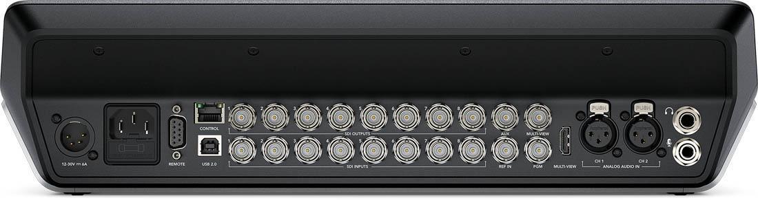 Blackmagic Design ATEM Television Studio Pro 4K - SWATEMTVSTU-PRO4K - Rear Connections