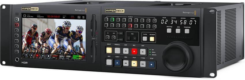 Blackmagic HyperDeck Extreme 8K HDR Control Bundle - HYPERD/RSTEX8KHDR-Bundle