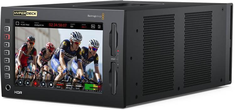 Blackmagic HyperDeck Extreme 8K HDR - HYPERD/RSTEX8KHDR