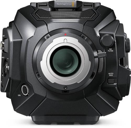 URSA Broadcast Camera Fujinon Lens Kit - URSABroadcast-LA16x8BRM-XB1A-KIT - front
