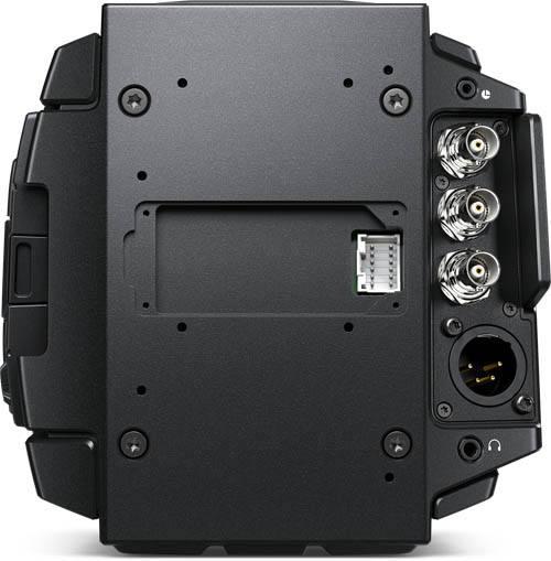 URSA Broadcast Camera with Fujinon - BMD-CINEURSAMWC4K - connectors