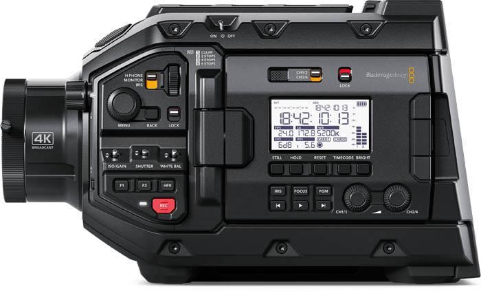 URSA Broadcast Camera with Fujinon Lens - BMD-CINEURSAMWC4K