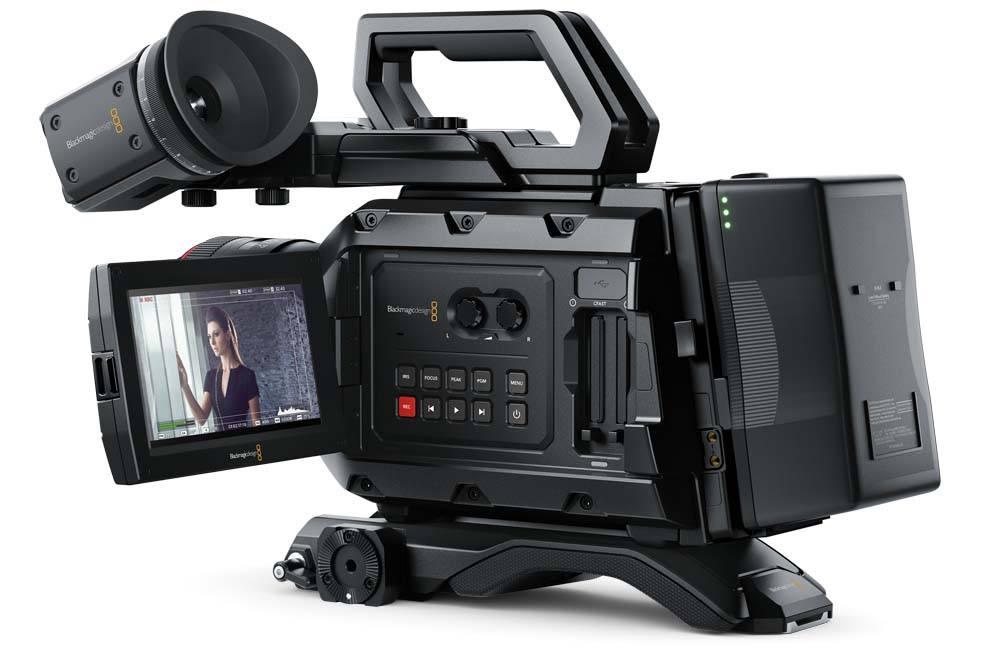 Blackmagic URSA Mini 4.6K PL Camera Blackmagic URSA Mini 4.6K PL, CINEURSAM46K/PL, Camera