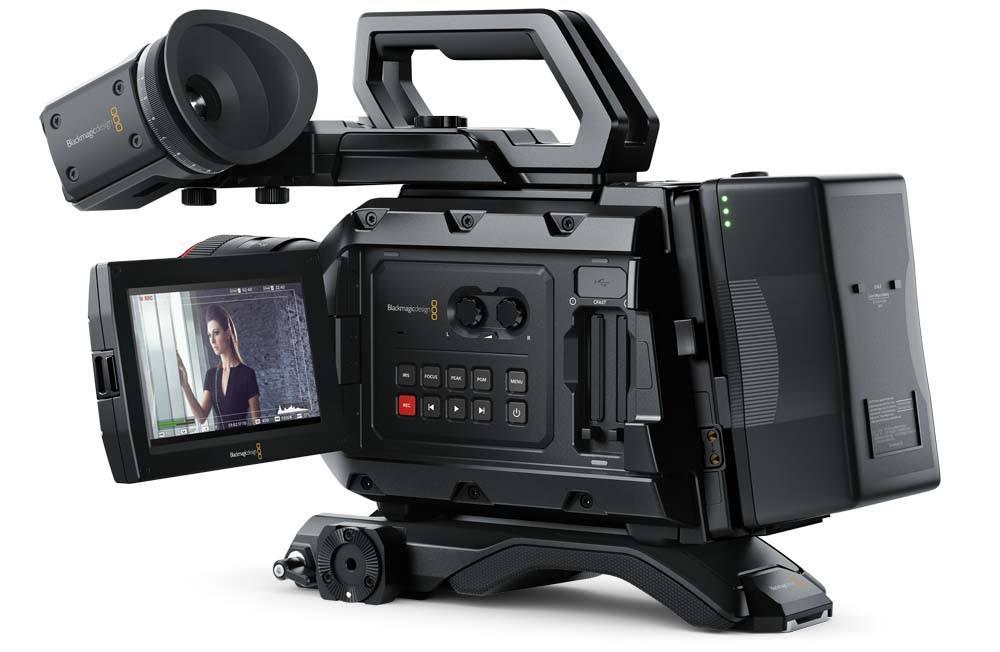 Blackmagic URSA Mini 4K PL Camera Blackmagic URSA Mini 4K PL, CINEURSAM40K/PL, Camera