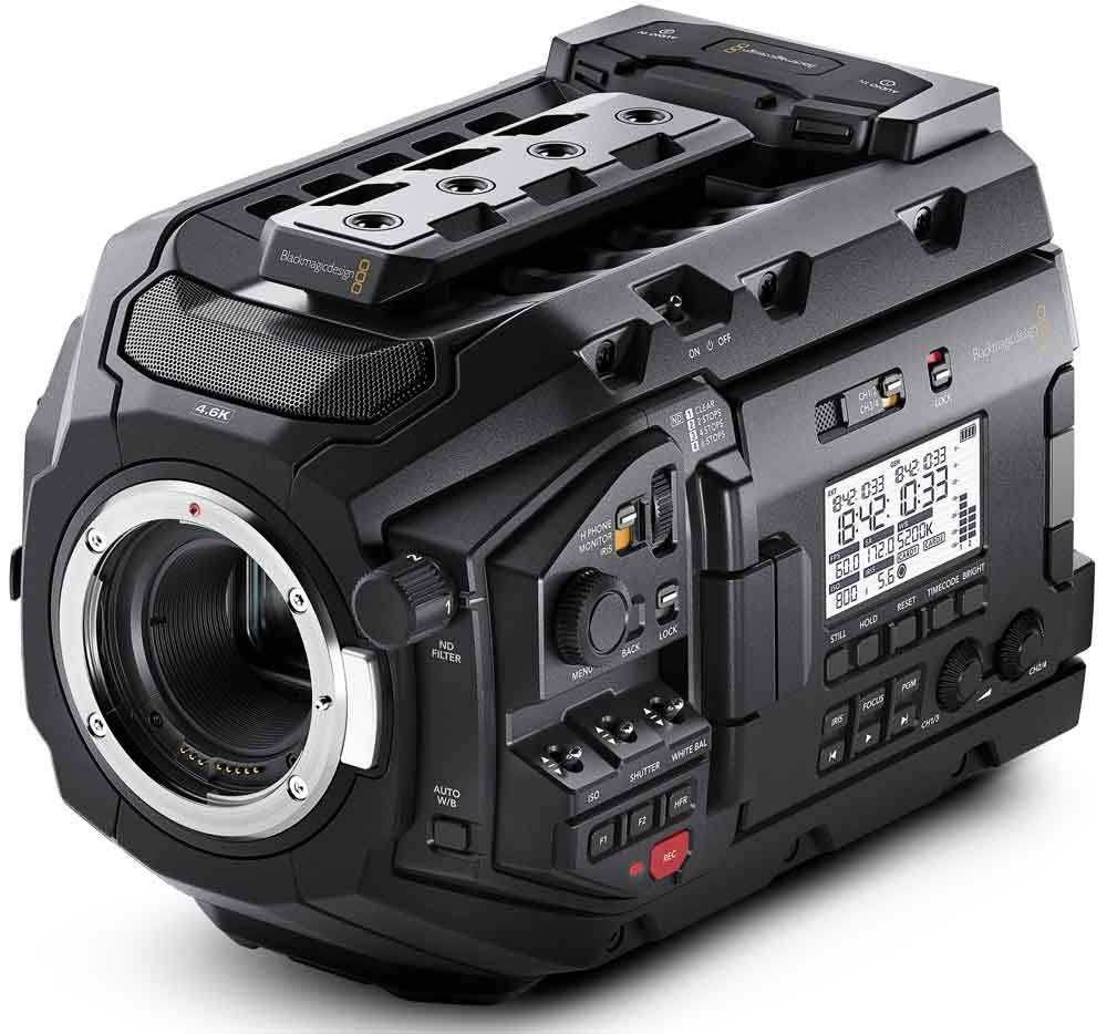 Blackmagic URSA Mini Pro 4.6K - BMD-CINEURSAMUPRO46K
