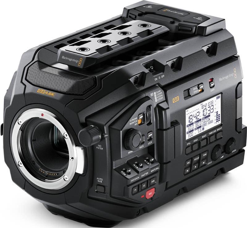 Blackmagic URSA Mini Pro 4.6K G2 - BMD-CINEURSAMUPRO46KG2