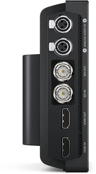 """Blackmagic Video Assist 7"""" 12G - HYPERD/AVIDA12/7HDR - Video Connectors"""