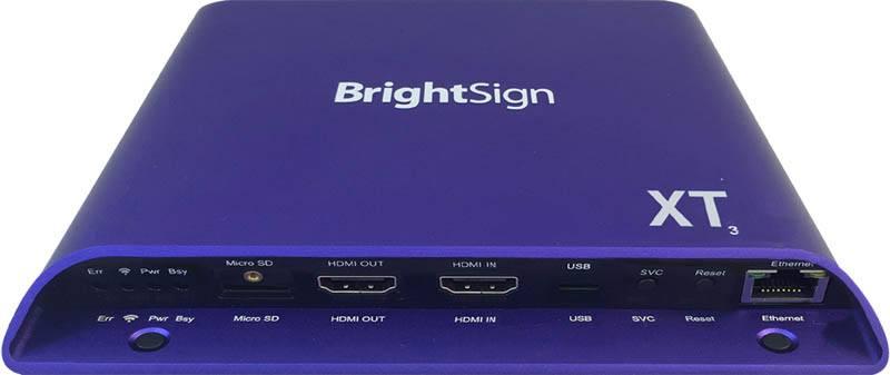 BrightSign XT1143 4K Digital Signage Player - front