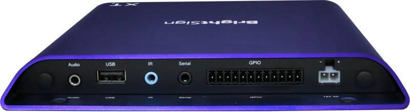 BrightSign XT1143 4K Digital Signage Player - rear