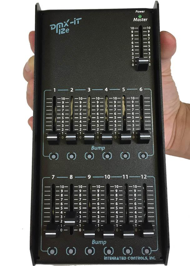 DMX-IT 12e - With Integrated Protection - Front