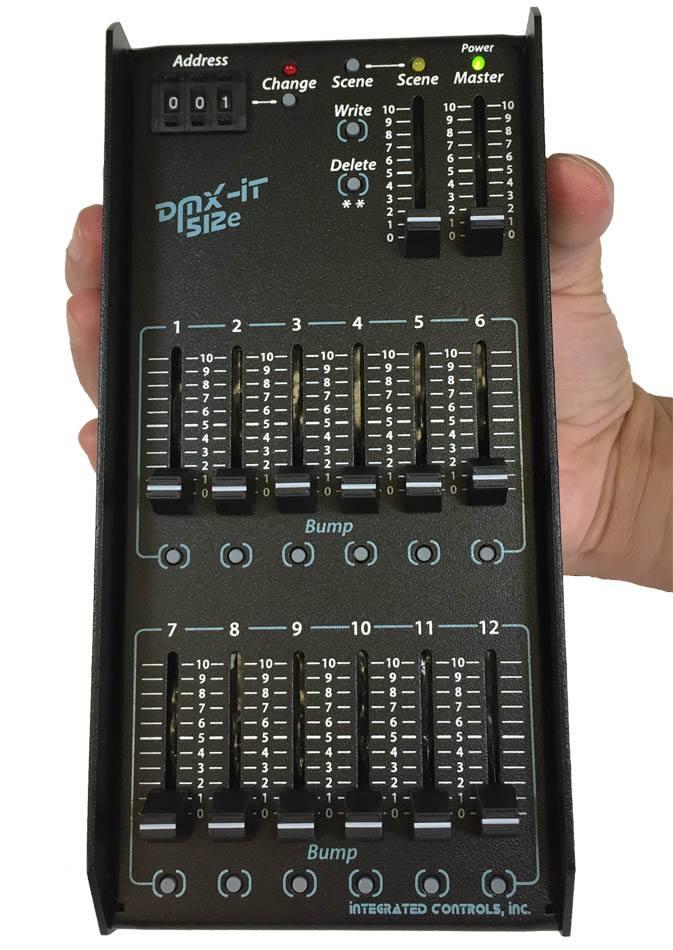DMX-IT 512e - With Protective Rails - Front