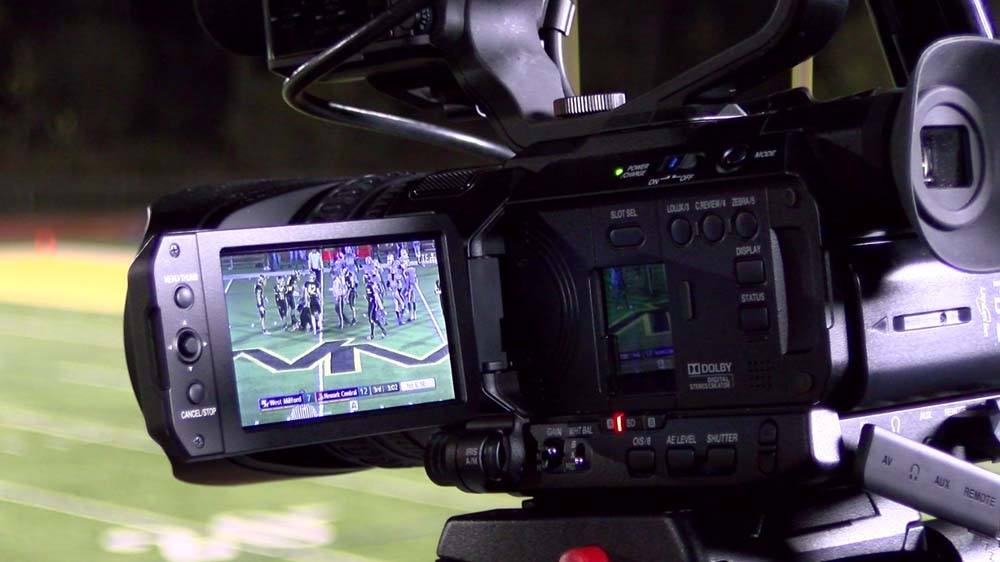 GY-HM250SP Sports Production Streaming Camcorder - Action Photo