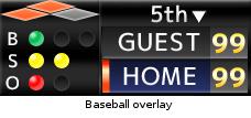 JVC Sports Production Camera - Baseball Overlay
