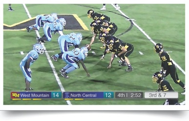 JVC Sports Production Camera - Basketball Overlay