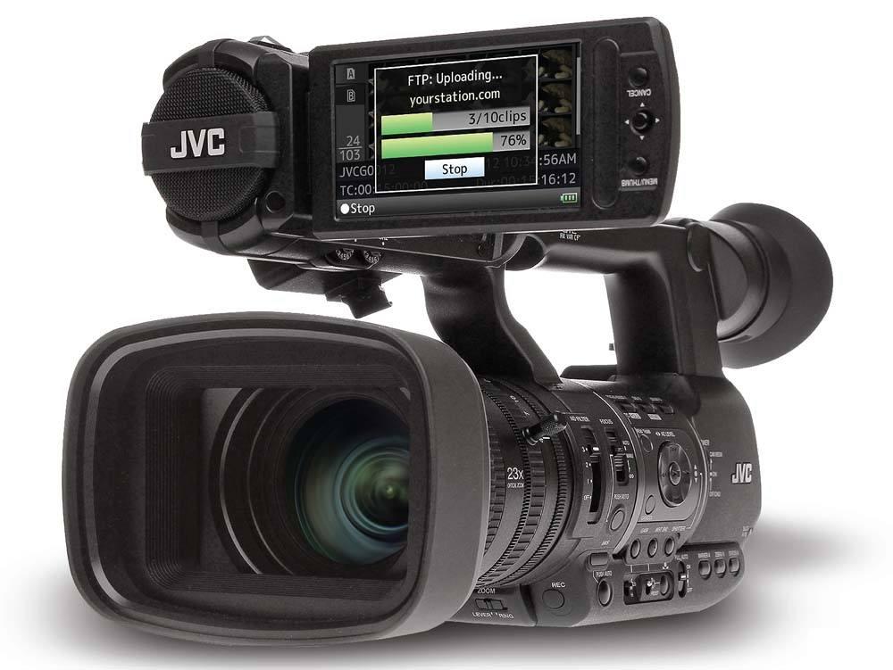 GY-HM660SC ProHD Sports Coaching Camera - Front Angle