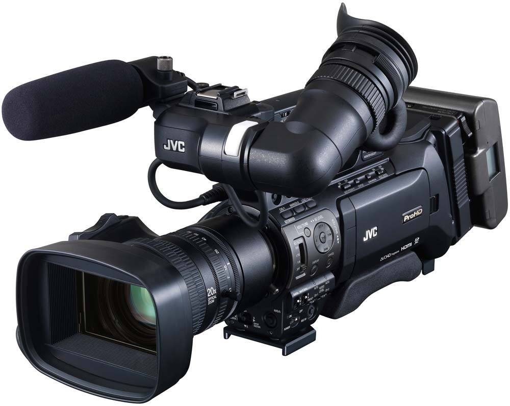 GY-HM890U ProHD Shoulder Camcorder - Top