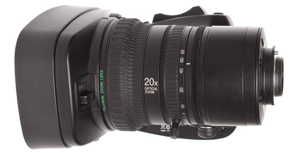 GY-HM890U - Included Fujinon Lens