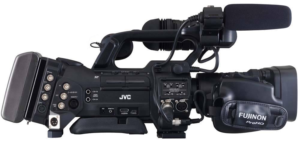 GY-HM890U ProHD Shoulder Camcorder - Right Side