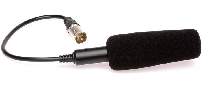 JVC QAN0067-003 Shotgun Microphone Kit for Camcorders