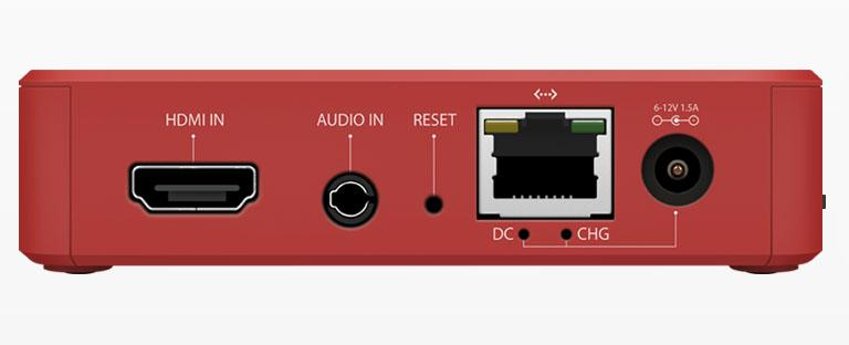 Livestream Broadcaster Pro - rear connections