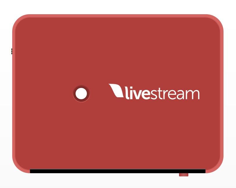 Livestream Broadcaster Pro - top