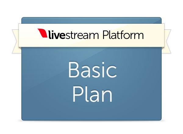 Livestream Platform Basic Plan - Yearly