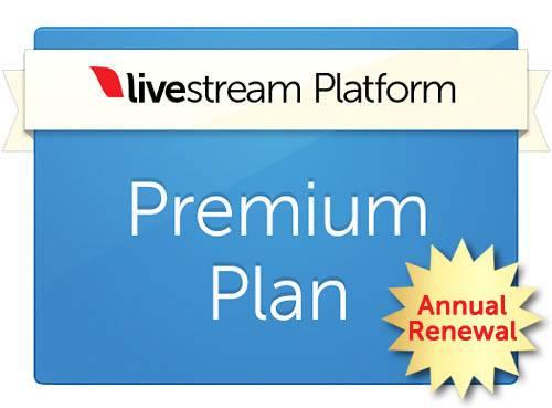 Livestream Platform Premium Plan Discounted Renewal