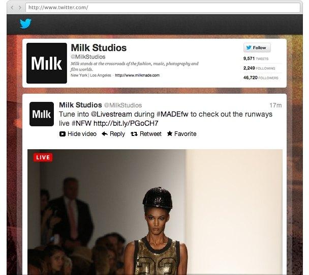Livestream Platform Premium Renewal - Twitter Integration