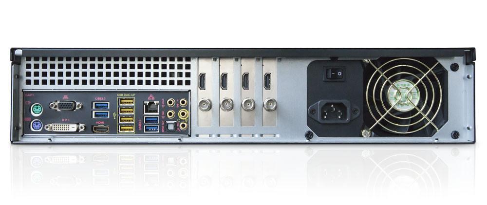 Livestream Studio HD31 - rear connections