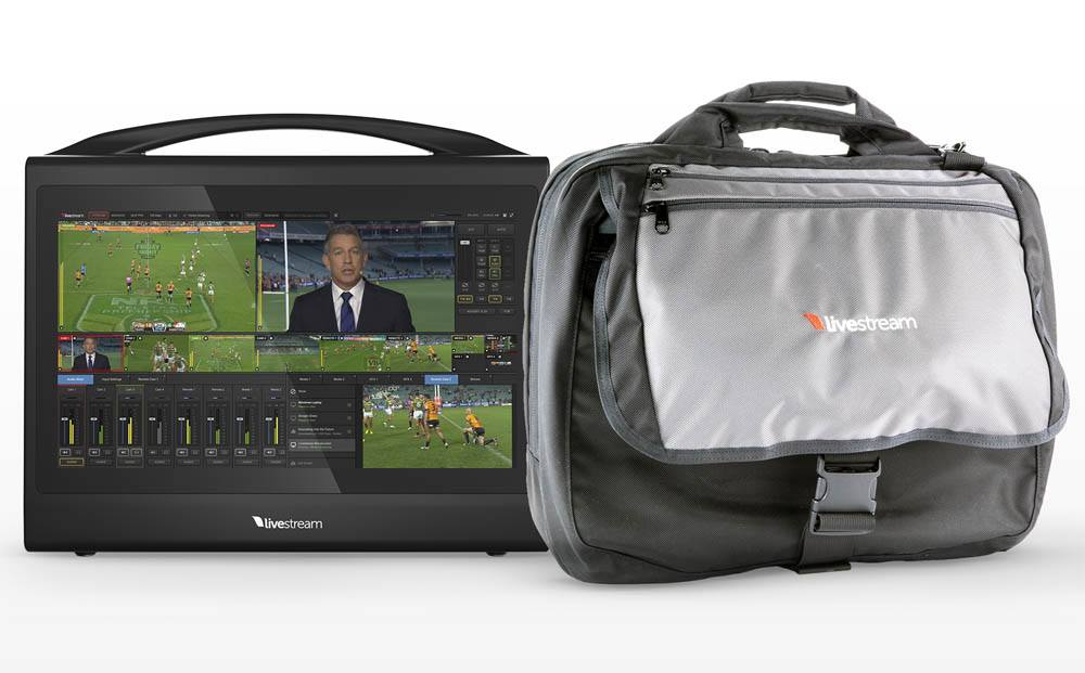 Livestream Studio HD550 4K - Portable with Custom Padded Bag