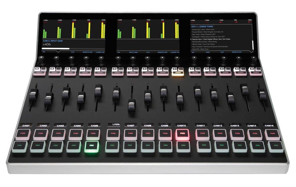Livestream Studio Surface Track Module - front