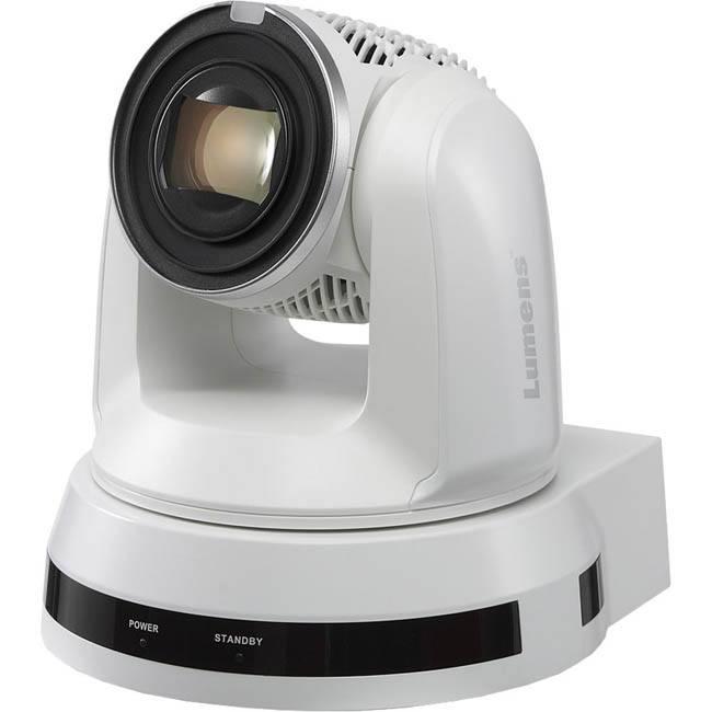 Lumens VC-A61PW - 30x 4K/30p PTZ Camera - White - VC-A61PW