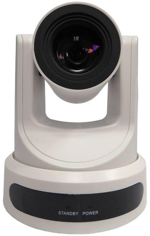 PTZOptics - 20X zoom - NDI - PT20X-NDI-WH - front