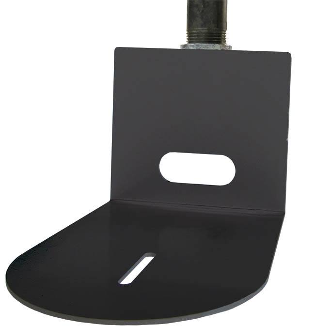 Ceiling Pole Mount (Black) - HCM-1C-BK - pole not included