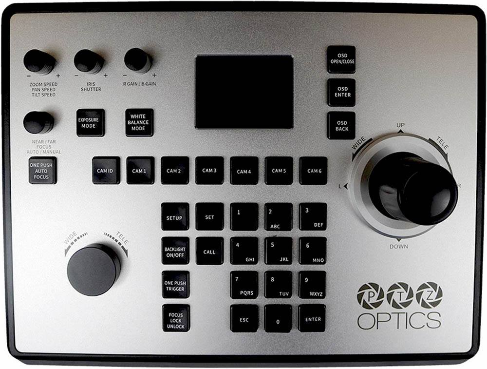 PTZOptics PTZ Joystick Controller G4 - PTZOptics-PTZJOY-G4 - top view