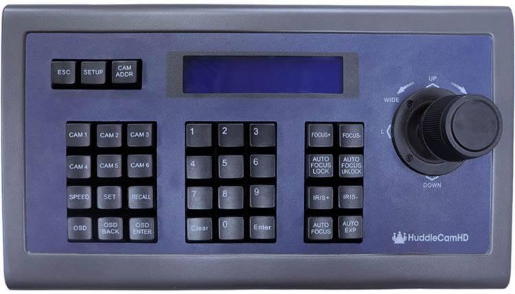 PTZOptics PTZ Joystick RS-232 Controller G3 - PTZOptics-HC-JOY-G3 - top view