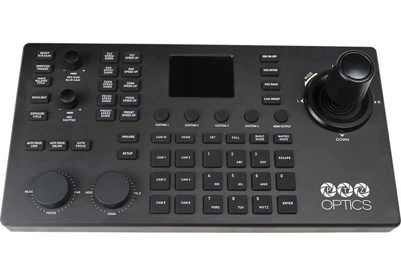 PTZOptics SuperJoy PTZ Controller - PTZOptics-PT-SUPERJOY-G1 - top view