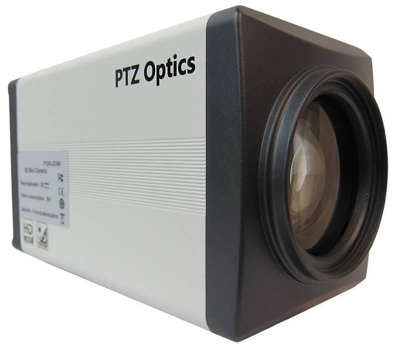PTZOptics - 20X zoom - 3G-SDI, IP Streaming - PT20X-ZCAM