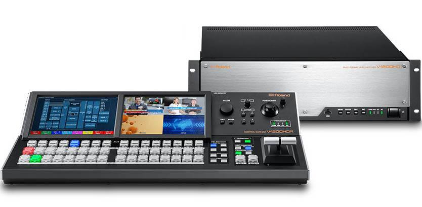 Roland V-1200HD-SYS - Video Switcher Bundle