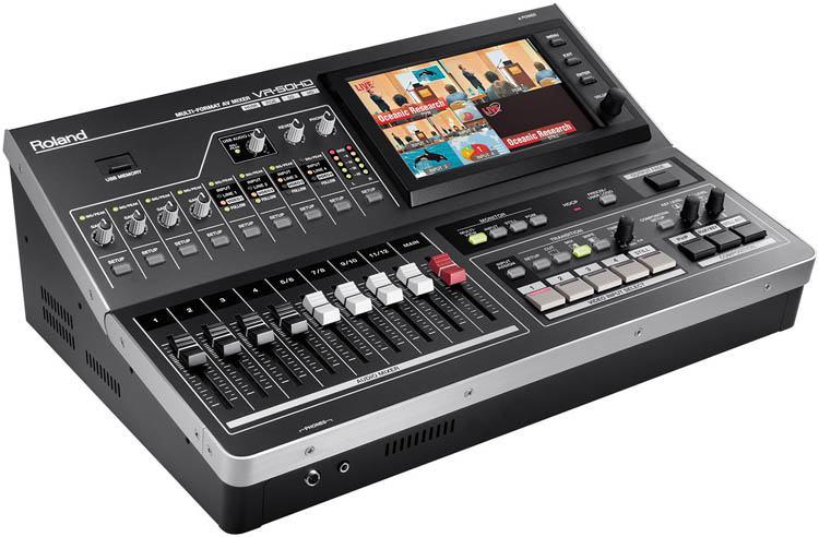 Roland VR-50HD - A/V Mixer - Recorder