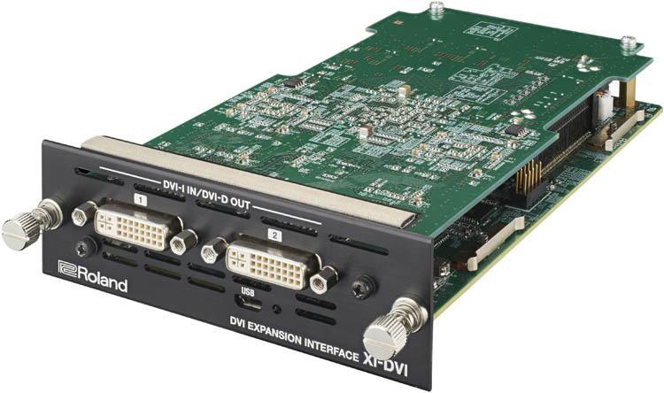 Roland XI-DVI - DVI Expansion Interface - angle