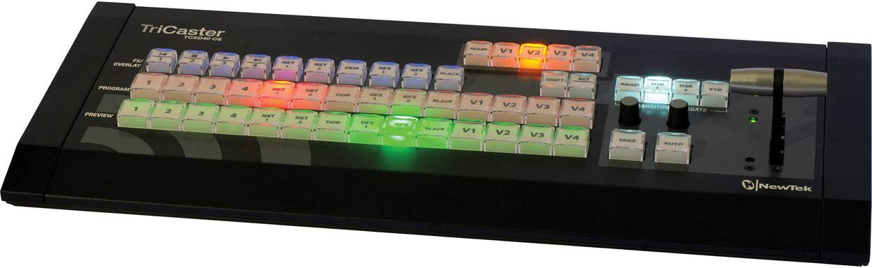 TriCaster 40 CS Control Surface