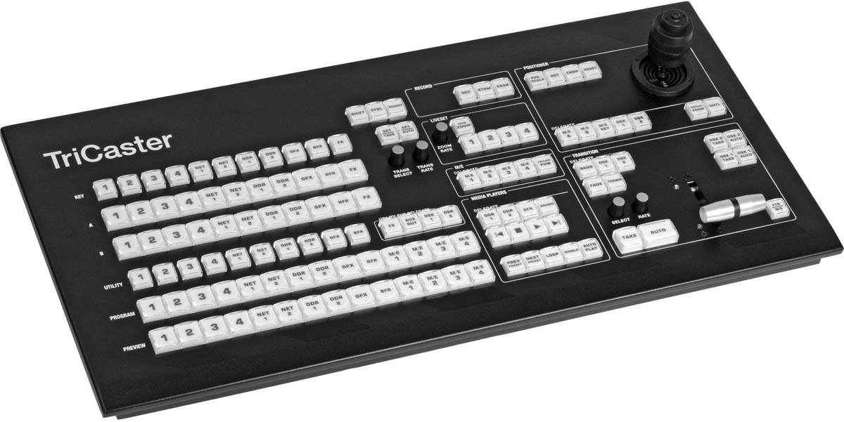 TriCaster 460 CS Control Surface