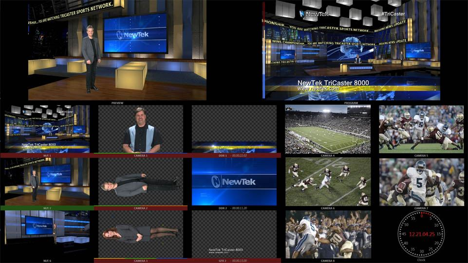 TriCaster 8000 - MultiView