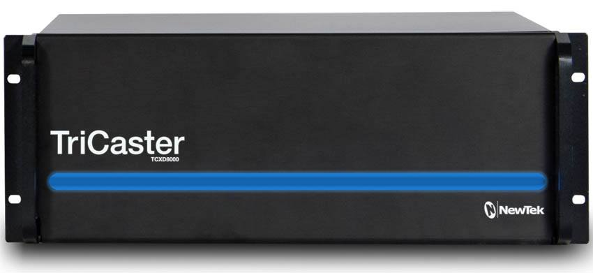 TriCaster 8000 - Front Panel