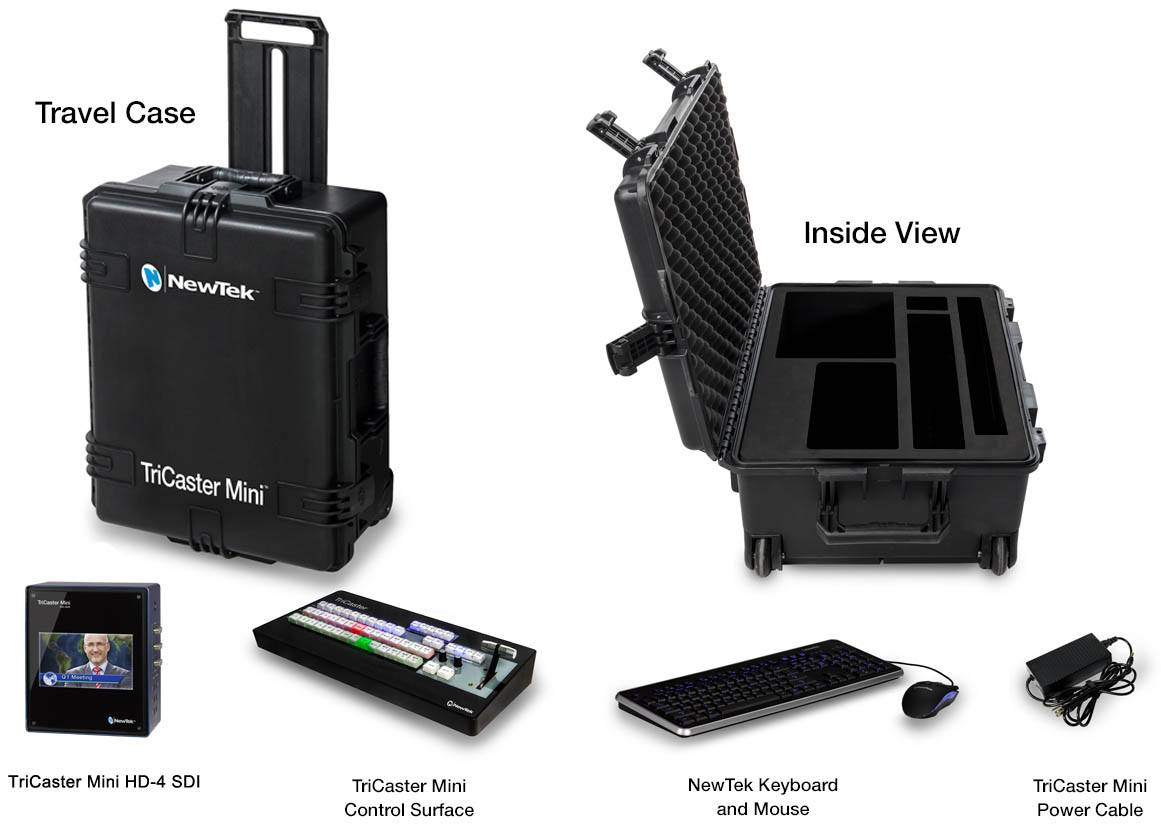 TriCaster Mini HD-4 SDI Bundle